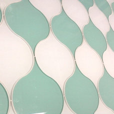 Eclectic Tile by Dreamwalls Glass