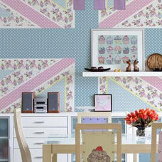 contemporary wallpaper by Shop On Your Doorstep