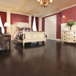 Mirage Hardwood Floors - Mirage: Exotic Collection: African Mahogany, color: Onyx