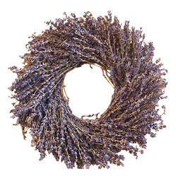 Creekside Farms - Lavender Wreath - The soothing aroma of lavender will transport you to a more relaxed environment. Harvested on a family farm and handmade.