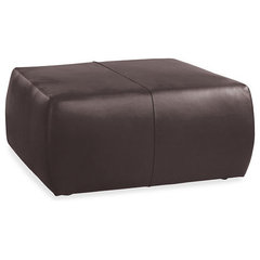 traditional ottomans and cubes by Room & Board