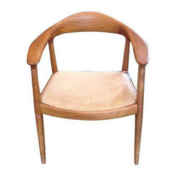 Blonde Wood Modern Dining Chair - Dimensions 24.0ʺW × 18.0ʺD × 31.0ʺH