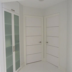 Italian Doors - All our doors are made from start to finish at our Miami Gardens workshop using the finest Italian veneers imported from Italy. Our European designs are outstanding and extremely popular among celebrities and the elite. We specialize in custom sizes. If you are looking for a door in odd sizes we can make it. Whether you are looking to replace your old door or reface your existing one Dayoris has the right door for you. We bring only the best in contemporary door and door hardware to all south Florida.