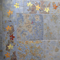 Traditional Wall And Floor Tile by Marin Designworks Glass Tile Design & Waterjet Art