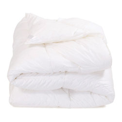 Duvet Insert - Twin - Fill'er up. Don't forget to get a fill for your Duvet Cover. Power-filled and double stitched for long lasting quality. Enviroloft Duvet Inserts are hypo-allergenic, feature a 230 thread count, and are machine washable.