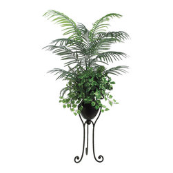Silk Plants Direct - Silk Plants Direct Areca Pothos, Palm and Fern (Pack of 1) - Pack of 1. Silk Plants Direct specializes in manufacturing, design and supply of the most life-like, premium quality artificial plants, trees, flowers, arrangements, topiaries and containers for home, office and commercial use. Our Areca Pothos, Palm and Fern includes the following: