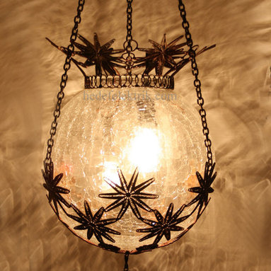 Turkish Style Ottoman Glass Pendant Lighting 20cm - *Code:  HD-04161_87