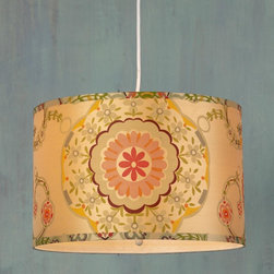 Carnival Wonderland Drum Shade Pendant 2 colors! -