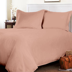 "Egyptian Cotton Sheet Set With Extra 27"" Deep Pocket 600 TC Solid (Cal-King,Peac - Set include 1 Fitted sheet(72 x 84 inches), 1 Flat sheet(110 x 102 inches�) and 2 king-size pillowcases(20x 40 inches�) only."