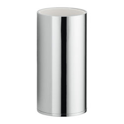"""WS Bath Collections - WS Bath Collections Upside 3031 Chrome Toothbrush Holder - Upside 3031, 2.4"""" x 2.4"""" x 4.5"""", Toothbrush Holder in Polished Chrome"""