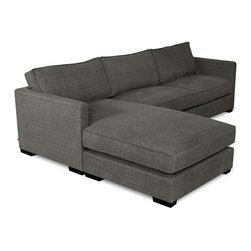 Gus - Gus Richmond Bi-Sectional - The cushions are reversible and feature French seams and waterfowl down-fill for luxurious comfort. The inner frame and wood block feet are made from 100% FSC̠-Certified wood in support of responsible forest management.
