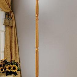 Coaster - Oak Traditional Coat Rack - Oak finish coat rack