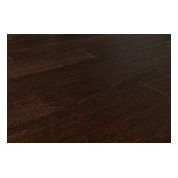 "Jasper - Jasper Engineered Hardwood - Smooth Aspen Collection - [26.3 sq ft/box] - Espresso / 5"" -  Due to the rich and thorough staining process used for the Jasper Smooth Aspen Collection, your home will look outstanding for many years to come, but at a price you can afford.  Create the look you want at the price you need at BuildDirect  Warm and comfortable but with the modern sophistication of dark wood in your home, the Jasper Smooth Aspen Collection looks outstanding wherever it is installed. With its rich, thorough staining process, there will be only subtle variation from plank to plank, and so this wonderful flooring product will provide a very continuous and sleek look to your home.  Engineered floors like those in this collection are eco-friendly due to maximizing the yield of each tree used. They take the best boards in each tree and make them shine, which means that you're getting a stable product as well.  High quality at a loss-leader price at BuildDirect  With the best price for an engineered floor on the market today, BuildDirect offers you more for your money with the Jasper Smooth Aspen Collection. Get the floor you want at a price you and your family can afford. With high value products at affordable prices that meet any budget, we know you're getting more for your money.   Add value to your home by investing in a product that's easy to install and made available for less. BuildDirect works with the world's leading manufacturers to make sure you're receiving exceptional value for your hard-earned money, and we pass these savings on to you."