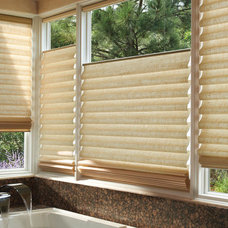 Modern Window Treatments by Village Paint & Design