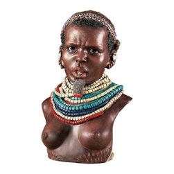 Summit - Bumi Woman, Africa - Collectible Figurine Statue Figure Sculpture - This gorgeous Bumi Woman, Africa - Collectible Figurine Statue Figure Sculpture has the finest details and highest quality you will find anywhere! Bumi Woman, Africa - Collectible Figurine Statue Figure Sculpture is truly remarkable.