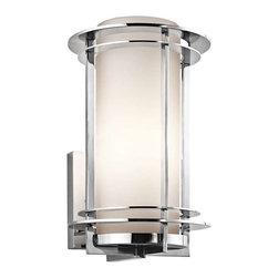 Kichler Lighting - Kichler Lighting 49345PSS316 Pacific Edge Transitional Outdoor Wall Light - Kichler Lighting 49345PSS316 Pacific Edge Transitional Outdoor Wall Light - Medium In Polished Stainless Steel