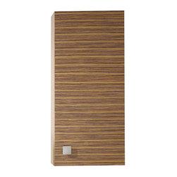 "Avanity - KNOX Wall Cabinet - 18"" Zebra Wood - KNOX Wall Cabinet - 18"" Zebra Wood"