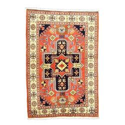 eSaleRugs - 3' 6 x 5' 3 Bidjar Persian Rug - SKU: 110900765 - Hand Knotted Bidjar rug. Made of 100% Wool. Brand New.