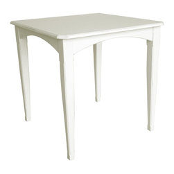 EuroLux Home - New Gathering Table Walnut White Painted - Product Details