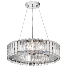 Kichler Crystal 6 Light Chandelier | Wayfair