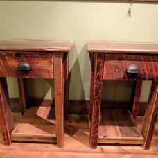 Rustic Nightstands And Bedside Tables by Lonepine Lodgepole
