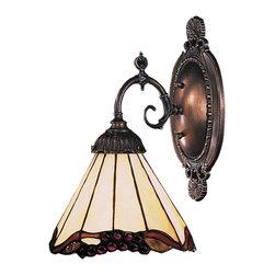 Elk Lighting - Elk Lighting 071-TB-03 Mix-N-Match Traditional Wall Sconce - Mix-N-Match 1-Light Sconce In Tiffany Bronze