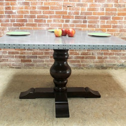 54 Reclaimed Wood Square Dining Tables -