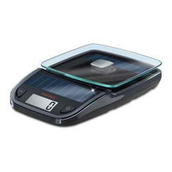 Soehnle - Soehnle Easy Solar Kitchen Scale, Black - Soehnle Easy Solar Kitchen Scale - Black - 66188    The solar cells of the kitchen scale Easy Solar are highly effective and extremely light sensitive. Precise measurement results are possible even in very low light conditions, to 1g/0.05oz precise!