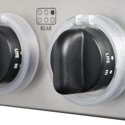 Kid Kusion - Kid Kusion Stove Knob Lock - Safety in the kitchen is a must, and with these durable knob locks, your stove will be fully safe from curious children seeking to turn it on. The adult cooks in the family can easily access the knobs with the turn and lock dial, while keeping the kids out of harm's way.