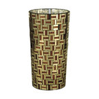 Dale Tiffany - New Dale Tiffany Ravenna Vase Brown/Bronze - Product Details
