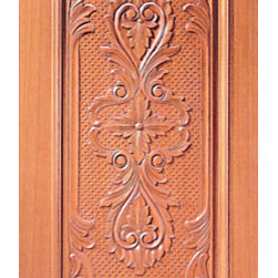 "Mahogany Single Door, Hand Carved 1-Panel - SKU#    Carved-14_1Brand    AAWDoor Type    ExteriorManufacturer Collection    Carved & MansionDoor Model    Door Material    WoodWoodgrain    MahoganyVeneer    Price    1380Door Size Options    30"" x Height"" (2'-6"" x 6'-8"")  $032"" x Height"" (2'-8"" x 6'-8"")  $036"" x Height"" (3'-0"" x 6'-8"")  +$1042"" x Height"" (3'-6"" x 6'-8"")  +$17036"" x Height"" (3'-0"" x 7'-0"")  +$11030"" x Height"" (2'-6"" x 8'-0"")  +$36032"" x Height"" (2'-8"" x 8'-0"")  +$36036"" x Height"" (3'-0"" x 8'-0"")  +$38042"" x Height"" (3'-6"" x 8'-0"")  +$380Core Type    SolidDoor Style    Door Lite Style    Door Panel Style    1 Panel , Hand Carved Panel , Raised Moulding , Raised PanelHome Style Matching    Mediterranean , Victorian , Old World , Elizabethan , Pueblo , SuburbanDoor Construction    True Stile and RailPrehanging Options    Prehung , SlabPrehung Configuration    Single DoorDoor Thickness (Inches)    1.75Glass Thickness (Inches)    Glass Type    Glass Caming    Glass Features    Glass Style    Glass Texture    Glass Obscurity    Door Features    Door Approvals    Door Finishes    Door Accessories    Weight (lbs)    340Crating Size    25"" (w)x 108"" (l)x 52"" (h)Lead Time    Slab Doors: 7 daysPrehung:14 daysPrefinished, PreHung:21 daysWarranty    1 Year Limited Manufacturer WarrantyHere you can download warranty PDF document."
