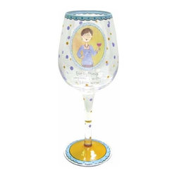 WL - Everything Improves Inscription Wine Glass with Chic Woman Decoration - This gorgeous Everything Improves Inscription Wine Glass with Chic Woman Decoration has the finest details and highest quality you will find anywhere! Everything Improves Inscription Wine Glass with Chic Woman Decoration is truly remarkable.