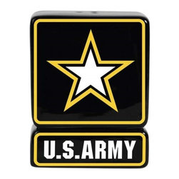 Westland - 3.25 Inch U.S. Army Star Salt and Pepper Shakers Food Storage - This gorgeous 3.25 Inch U.S. Army Star Salt and Pepper Shakers Food Storage has the finest details and highest quality you will find anywhere! 3.25 Inch U.S. Army Star Salt and Pepper Shakers Food Storage is truly remarkable.