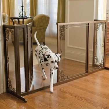 Help me find an indoor gate: functional, ornamental, inexpensive.