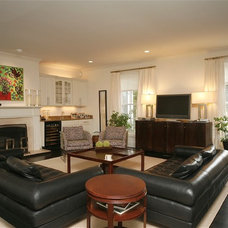 Contemporary Living Room by Beth Krupa Interiors