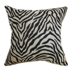 Pillow Collection - The Pillow Collection Jamba Animal Print Pillow - Black - P18-MVT-1197-BLACK-CHE - Shop for Pillows from Hayneedle.com! The Pillow Collection Jamba Animal Print Pillow - Black is made of sumptuous chenille and has a fun zebra pattern. This decorative pillow takes your sofa for a walk on the wild side. Its blended feather and down fill holds its shape beautifully. Dry clean only.About The Pillow CollectionIdentical twin brothers Adam and Kyle started The Pillow Collection with a simple objective. They wanted to create an extensive selection of beautiful and affordable throw pillows. Their father is a renowned interior designer and they developed a deep appreciation of style from him. They hand select all fabrics to find the perfect cottons linens damasks and silks in a variety of colors patterns and designs. Standard features include hidden full-length zippers and luxurious high polyester fiber or down blended inserts. At The Pillow Collection they know that a throw pillow makes a room.