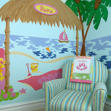 Tropical Kids Decor by Elephants on the Wall