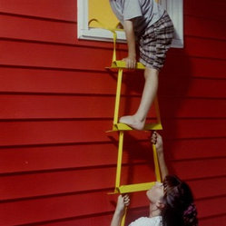 X-IT Emergency Fire Escape Ladder, 2-Story Height