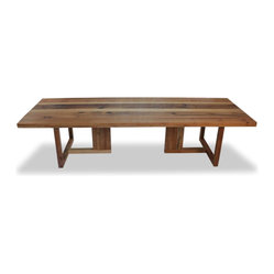 Solid Araucária Wood Dining Table