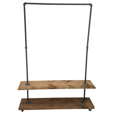 Industrial Clothes Racks by Edna Faye Creations