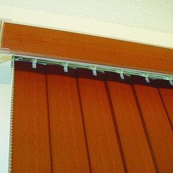 Vertical Blinds - A tempting solar solution