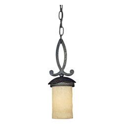 Quoizel Lighting - Quoizel LP1505IB La Parra Imperial Bronze Mini Pendant - 1, 100W A19 Medium