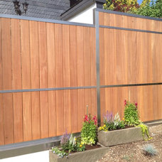 Contemporary Home Fencing And Gates by Hoge die Manufaktur