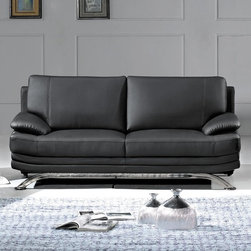 Marthena Home Furnishings - Sofa Phoenix Full Length Couch - 9250SF - Confident and contemporary, bold and modern.