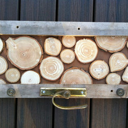 Coat Hooks from Reclaimed Christmas Trees - San Diego Woodworks