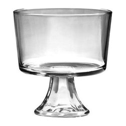 Anchor Hocking - Presence Footed Trifle Gift Bo - Anchor Hocking Presensce Footed Trifle Clear Glassware 2-pack, Open Stock.