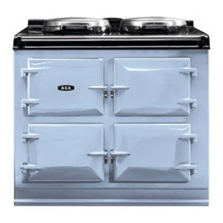 """AGA - ATC3DEB Total Control 39"""" Freestanding 3 Oven Electric Range Cooker with 10 Cook - The AGA Total Control Range Cooker is a newly designed version of the classic icon of British cooking Three radiant-heat cast iron ovens and two hotplates give you 10 delicious ways to cook in one rangeJust imagine the ability to bake roast boil simm..."""