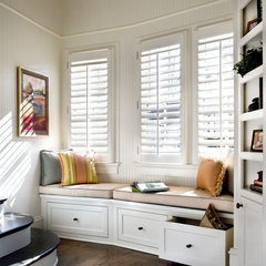 traditional window blinds by Acadia Shutters, Inc.