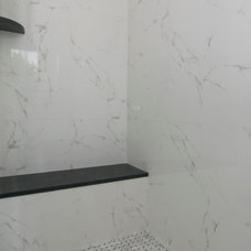 Traditional Tile Marmol Carrara Blanco