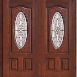 """Prehung Double Door 80 Fiberglass Versailles Eyebrow Oval Lite Glass - SKU#MCT02602_DFOV2BrandGlassCraftDoor TypeExteriorManufacturer CollectionOval Lite Entry DoorsDoor ModelVersaillesDoor MaterialFiberglassWoodgrainVeneerPrice2940Door Size Options2(32"""")[5'-4""""]  $02(36"""")[6'-0""""]  $0Core TypeDoor StyleDoor Lite StyleOval LiteDoor Panel StyleEyebrowHome Style MatchingDoor ConstructionPrehanging OptionsPrehungPrehung ConfigurationDouble DoorDoor Thickness (Inches)1.75Glass Thickness (Inches)Glass TypeDouble GlazedGlass CamingSatin NickelGlass FeaturesTempered glassGlass StyleGlass TextureGlass ObscurityDoor FeaturesDoor ApprovalsEnergy Star , TCEQ , Wind-load Rated , AMD , NFRC-IG , IRC , NFRC-Safety GlassDoor FinishesDoor AccessoriesWeight (lbs)603Crating Size25"""" (w)x 108"""" (l)x 52"""" (h)Lead TimeSlab Doors: 7 Business DaysPrehung:14 Business DaysPrefinished, PreHung:21 Business DaysWarrantyFive (5) years limited warranty for the Fiberglass FinishThree (3) years limited warranty for MasterGrain Door Panel"""